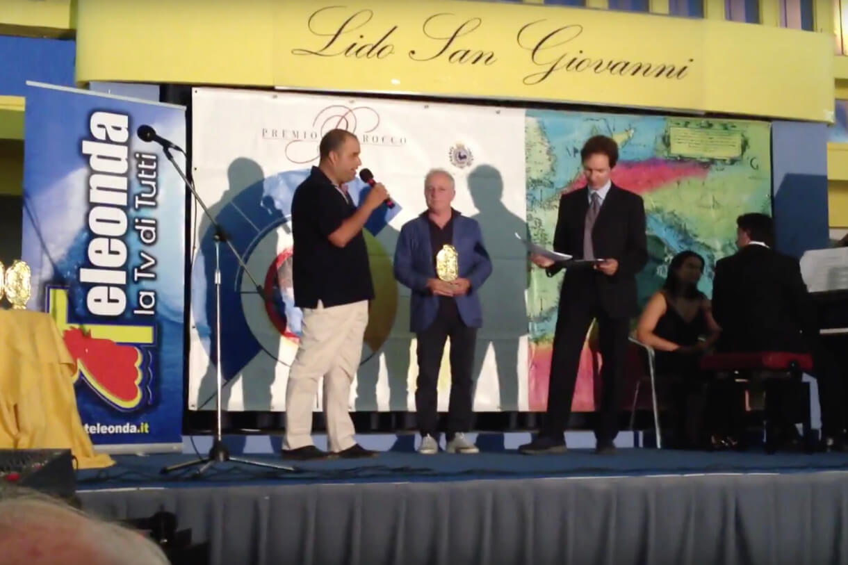 """Terra del Sole Award"" 30/06/2012 - Premio Barocco Gallipoli"